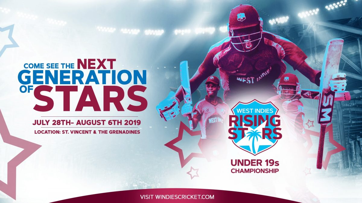 West Indies Rising Stars U19 2019 Flyer