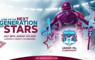 West Indies Rising Stars U19 2019 Flyer