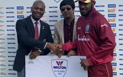 Sunil records first century by a Vincentian for West Indies men