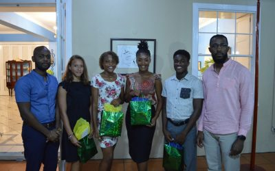 SVGCA celebrates 40th Independence by recognizing four outstanding young sports persons