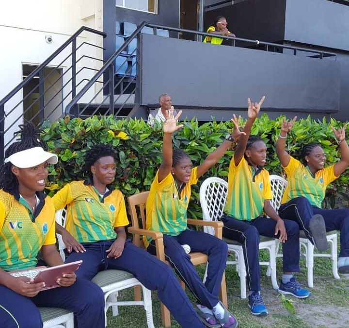 SVG Female Team retains 50 Overs Championship