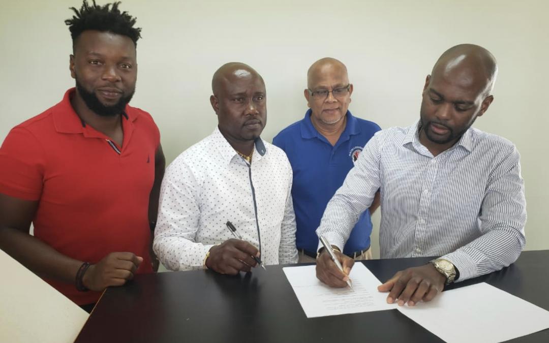 SVGCA and Tobago Cricket Association signs MOU