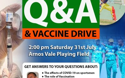 Questions & Answer Segment on Covid-19 with Dr. Malcolm Grant